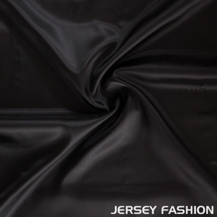 Viscose linings Jet Black