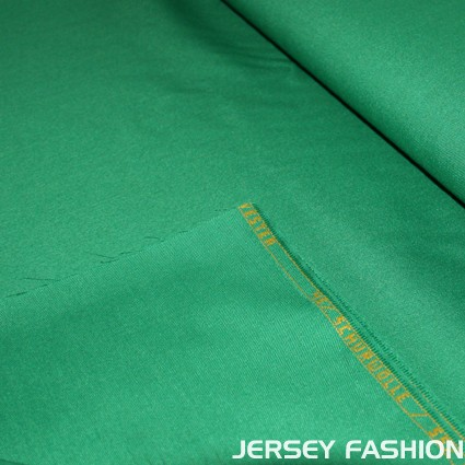 Wool Gabardine shamrock green