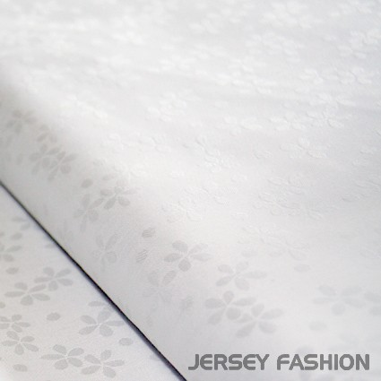 Damask table cloth fabric Millefleur