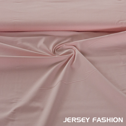 Stretch cotton Poplin soft pink