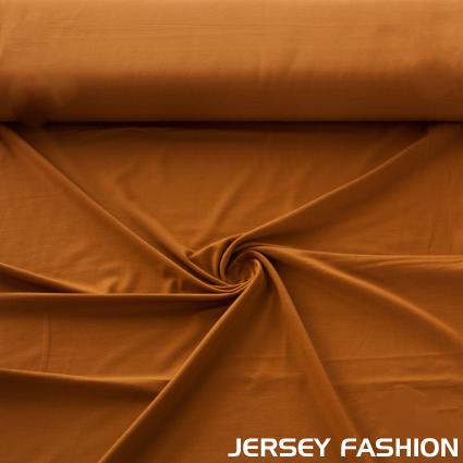Hilco Viscose Jersey Fabric Copper Brown Knit Fabrics Online