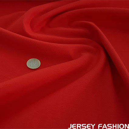 Toptex fine stretch cotton twill fabric red