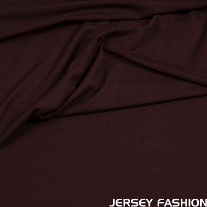 Hilco viscose jersey dark brown