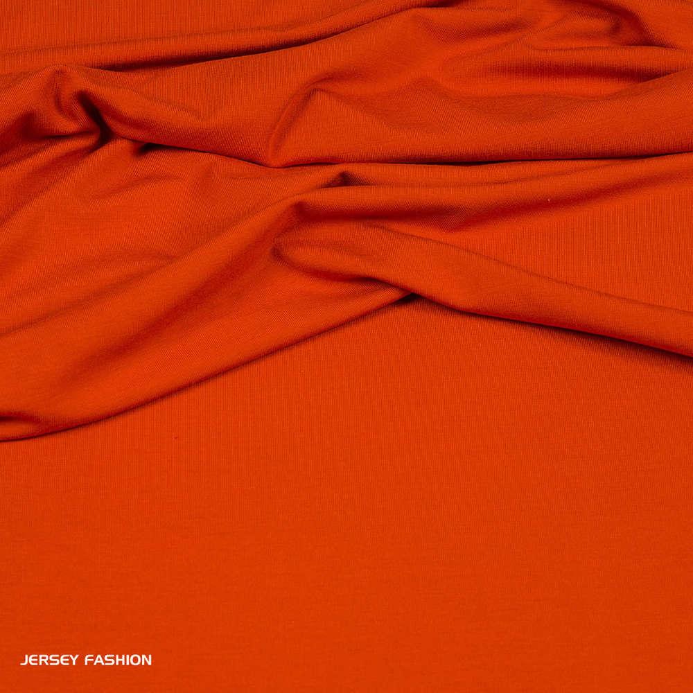 Wonderlijk Hilco viscose jersey warm oranje | Uni tricot stoffen | Burda stoffen EI-41