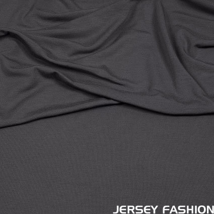 Hilco viscose jersey anthracite grey