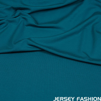 Hilco viscose jersey donker turquoise