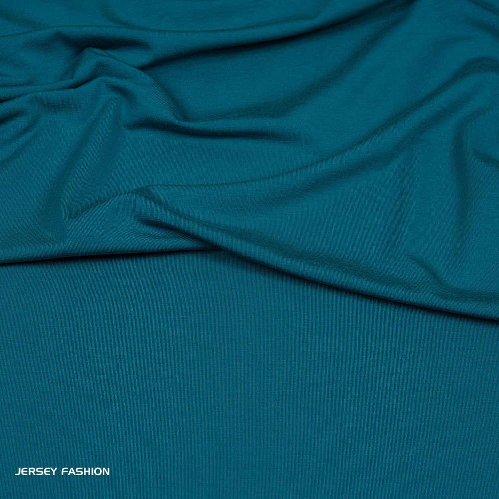 2a9620fe0b2 Hilco viscose jersey dark turquoise | Knitted fabrics Hilco