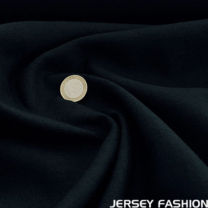 Stretch linen dark blue