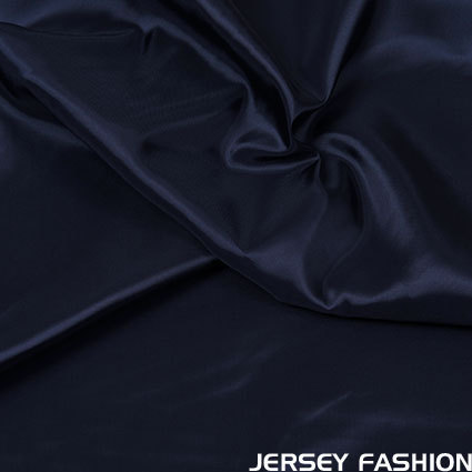 Viscose lining navy blue