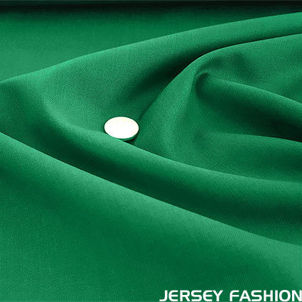 Wool gabardine emerald green