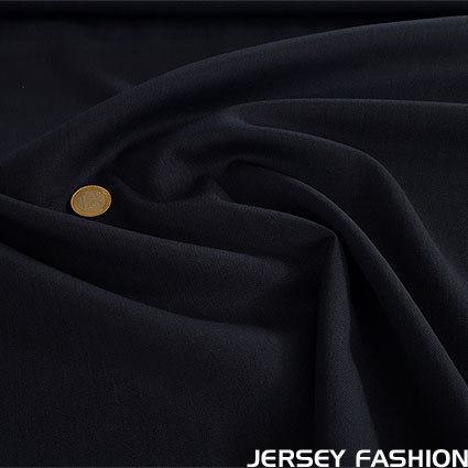 Wool gabardine dark blue