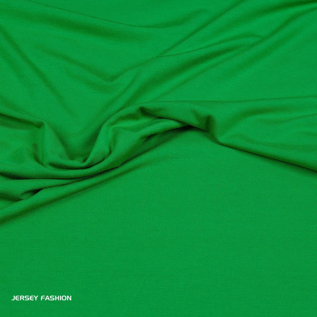 gato Dar Jirafa  Hilco viscose jersey benetton green | Plain fabrics online