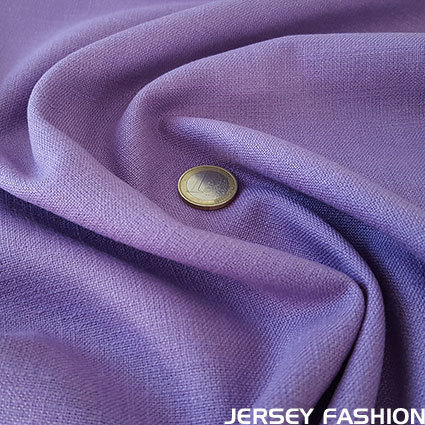 Stretch linen lavender