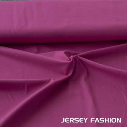 Stretch twill fabric cotton fuchsia