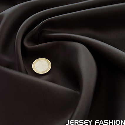 Viscose lining dark brown