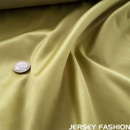Toptex stretch cotton satin pear green
