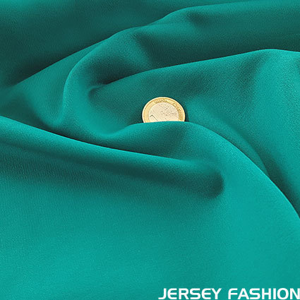 Heavy jersey turquoise green