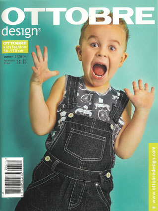 Ottobre design kid's fashion zomer 2014 nr.3