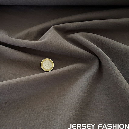 Heavyweight jersey grey brown
