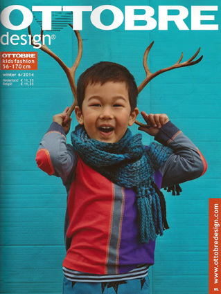 Ottobre kid's winter 2014 nr.6 pattern magazine (Dutch issue)