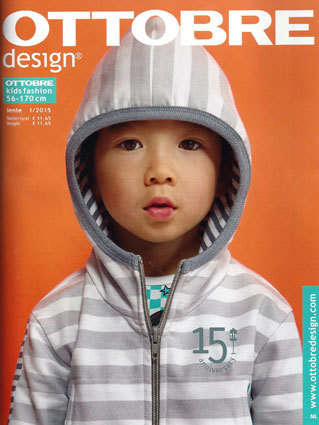 Ottobre design kid's fashion lente 2015 nr.1 (NL / BE)