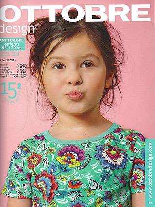 Ottobre Design Enfants, Été 2015 nr.3 pattern magazine (FRENCH LANGUAGE)