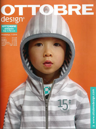 Ottobre Design Enfants Printemps 2015 nr.1 (FRANSE TAAL)