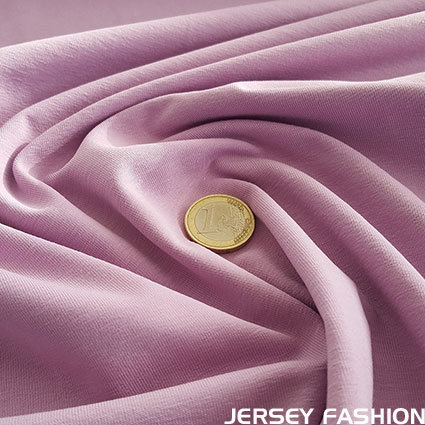 Cotton jersey Toptex lilac