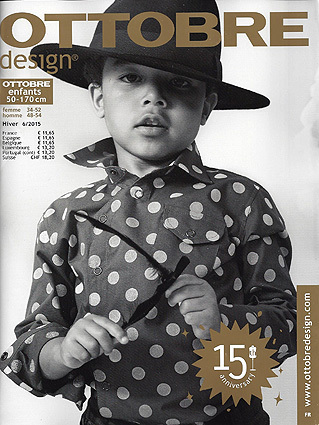 Ottobre Design Enfants d'hiver 2015 nr.6 pattern magazine (FRENCH LANGUAGE)
