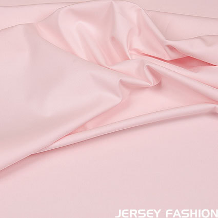 Stretch cotton poplin soft rose