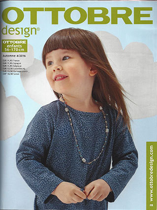 Ottobre Design Enfants, Automne 2016 nr.4 (FRENCH LANGUAGE)