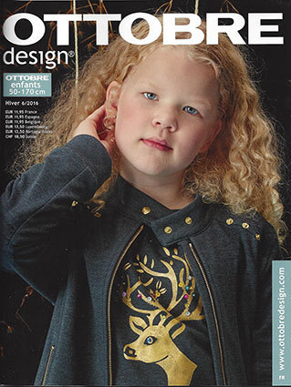Ottobre Design Enfants d'hiver 2016 nr.6 (FRENCH LANGUAGE)