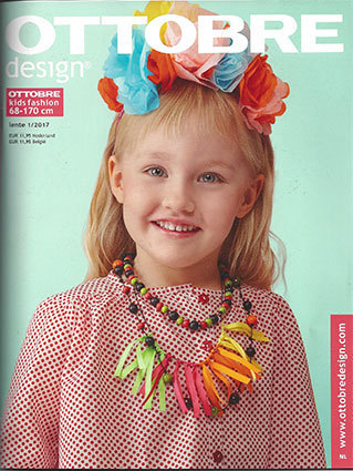 Ottobre Design Kid's Fashion Spring 2017-1 (Dutch issue)