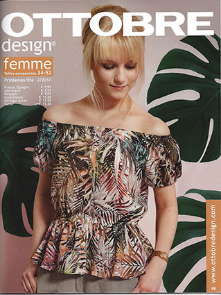 Ottobre Design Femme Printemps / Été 2017-2 pattern magazine (French)