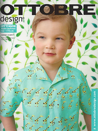 Ottobre kid's Summer 2017-3 pattern magazine (Dutch issue)