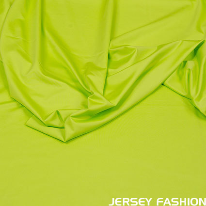 "Hilco stretch sport & swimming fabric ""Sporty Uni"" lime green"