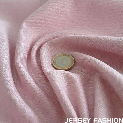 Stretch linen soft rose