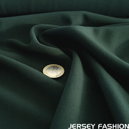 Fine stretch crepe fir green - Toptex