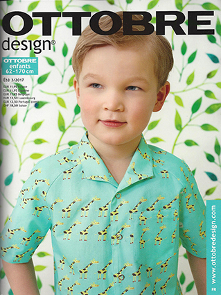 Ottobre Design Enfants, Été 2017-3 pattern magazine (FRENCH LANGUAGE)