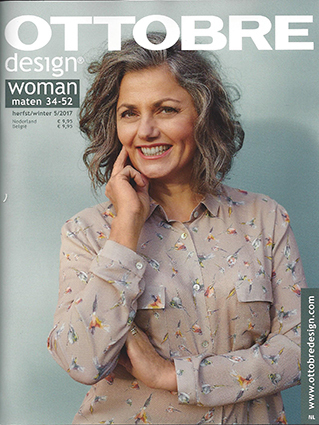 Ottobre Design Woman Fall / Winter 2017-5 pattern magazine (Dutch)