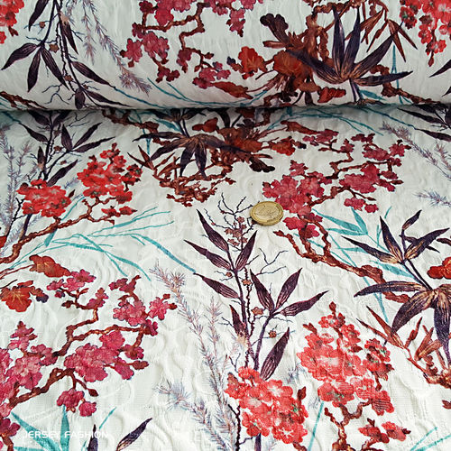 "Hilco stretch jacquard fabric ""Coruche"""