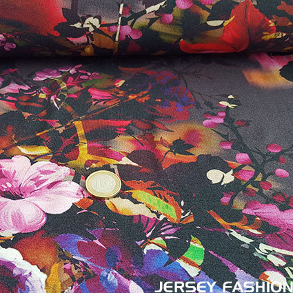 "Inkjet viscose jersey fabric ""Catalina"""