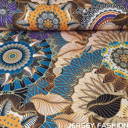 "Hilco inkjet viscose jersey ""Fleurs Jungle"""