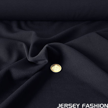 Stretch gabardine dark blue