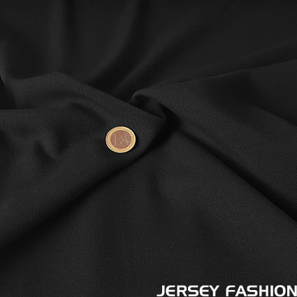 Stretch gabardine black