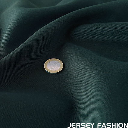 Wool gabardine dark green