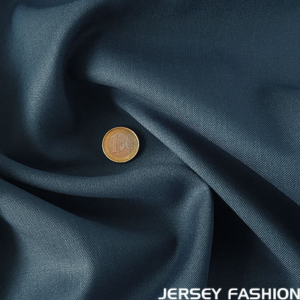 Wool gabardine grey blue