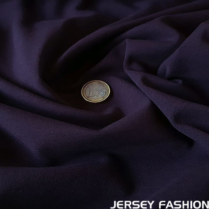 Cotton jersey Toptex violet