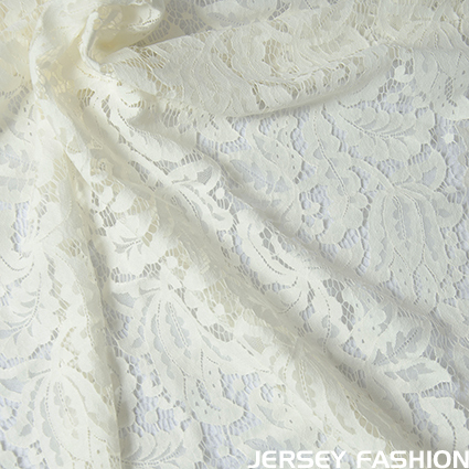 "Lace fabric ""Biagio"" off-white - Hilco"