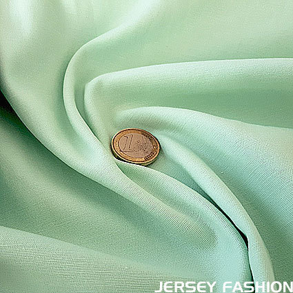 Toptex fine stretch cotton twill fabric soft mint | Remnant piece 45cm